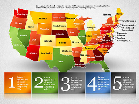 USA Presentation Diagram, Slide 15, 01921, Business Models — PoweredTemplate.com