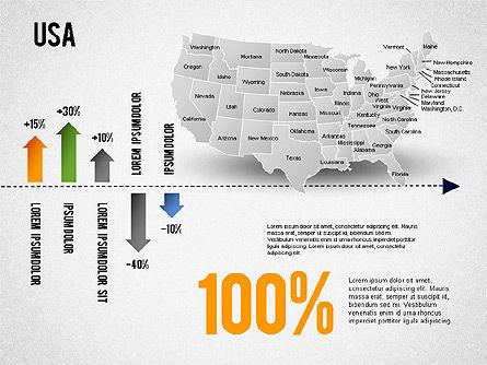 USA Presentation Diagram, Slide 7, 01921, Business Models — PoweredTemplate.com