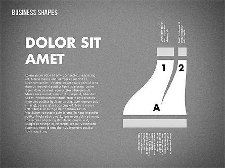 Spaghetti Chart in Flat Design, Slide 13, 01924, Process Diagrams — PoweredTemplate.com