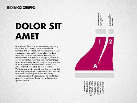 Spaghetti Chart in Flat Design, Slide 5, 01924, Process Diagrams — PoweredTemplate.com