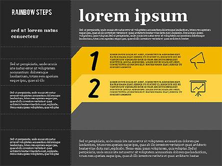 Colored Banner Options, Slide 10, 01926, Business Models — PoweredTemplate.com