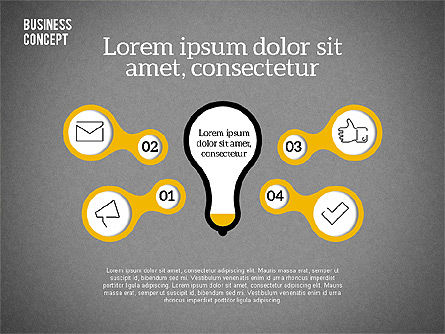 Idea Generation Concept, Slide 13, 01932, Business Models — PoweredTemplate.com