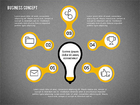 Idea Generation Concept, Slide 14, 01932, Business Models — PoweredTemplate.com