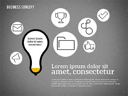 Idea Generation Concept, Slide 16, 01932, Business Models — PoweredTemplate.com