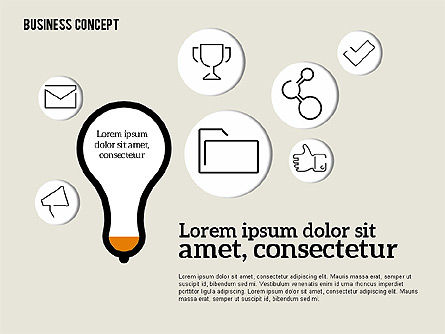 Idea Generation Concept, Slide 8, 01932, Business Models — PoweredTemplate.com