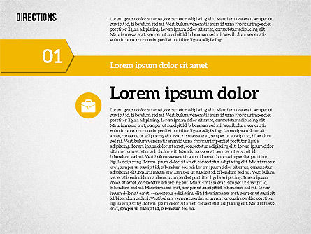 Colorful Number Options, 01933, Business Models — PoweredTemplate.com