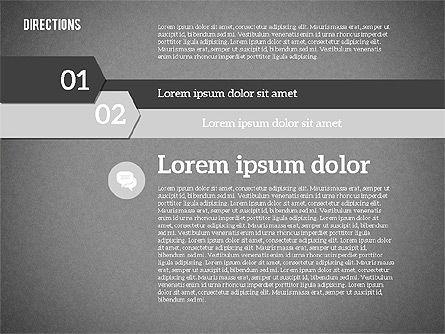 Colorful Number Options, Slide 10, 01933, Business Models — PoweredTemplate.com