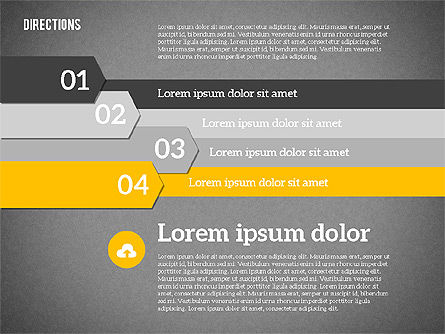 Colorful Number Options, Slide 12, 01933, Business Models — PoweredTemplate.com