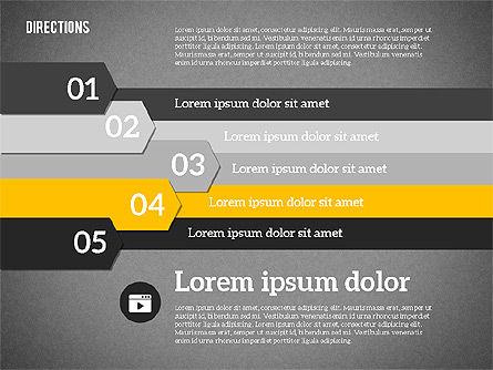 Colorful Number Options, Slide 13, 01933, Business Models — PoweredTemplate.com