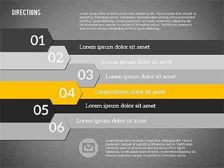 Colorful Number Options, Slide 14, 01933, Business Models — PoweredTemplate.com