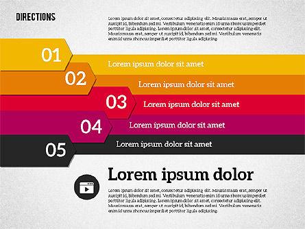 Colorful Number Options, Slide 5, 01933, Business Models — PoweredTemplate.com