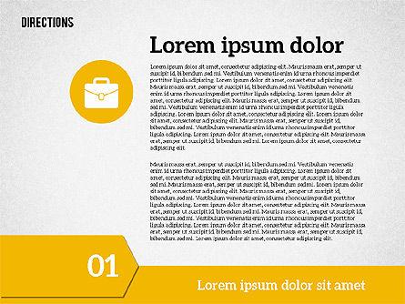 Colorful Number Options, Slide 7, 01933, Business Models — PoweredTemplate.com