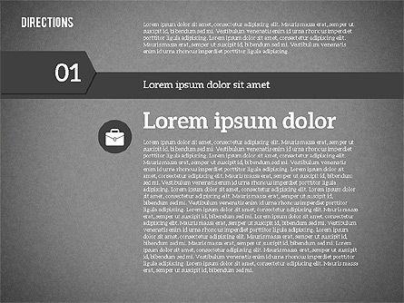 Colorful Number Options, Slide 9, 01933, Business Models — PoweredTemplate.com