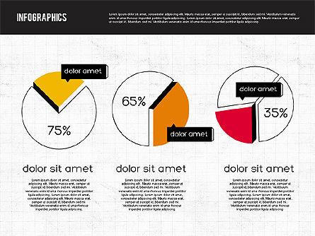 Diagrams Tool Kit in Flat Design, 01935, Business Models — PoweredTemplate.com