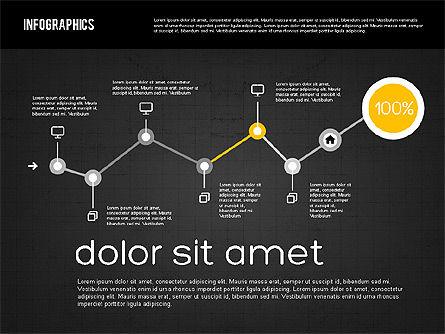 Diagrams Tool Kit in Flat Design, Slide 13, 01935, Business Models — PoweredTemplate.com
