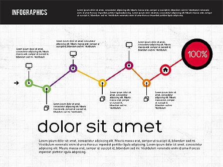 Diagrams Tool Kit in Flat Design, Slide 5, 01935, Business Models — PoweredTemplate.com