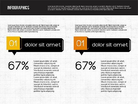 Diagrams Tool Kit in Flat Design, Slide 7, 01935, Business Models — PoweredTemplate.com