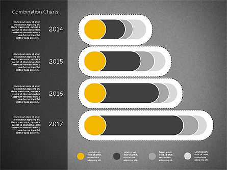 Stacked Bar Chart Toolbox, Slide 10, 01937, Business Models — PoweredTemplate.com