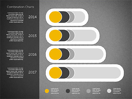 Stacked Bar Chart Toolbox, Slide 12, 01937, Business Models — PoweredTemplate.com