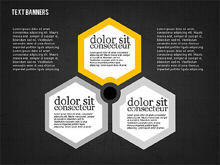 Colorful Text Banners, Slide 16, 01938, Text Boxes — PoweredTemplate.com