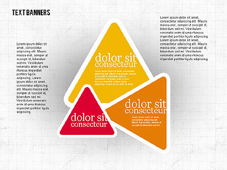 Colorful Text Banners, Slide 4, 01938, Text Boxes — PoweredTemplate.com