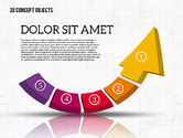 Shapes: Colorful 3d objetos #01939