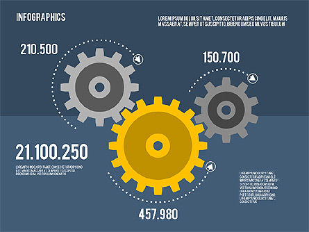 Infographics Toolbox in Flat Design, Slide 11, 01945, Presentation Templates — PoweredTemplate.com