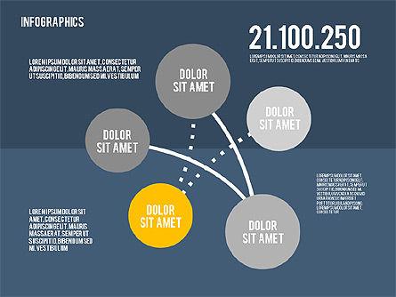 Infographics Toolbox in Flat Design, Slide 15, 01945, Presentation Templates — PoweredTemplate.com