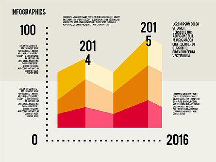 Infographics Toolbox in Flat Design, Slide 2, 01945, Presentation Templates — PoweredTemplate.com