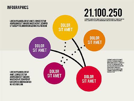 Infographics Toolbox in Flat Design, Slide 7, 01945, Presentation Templates — PoweredTemplate.com