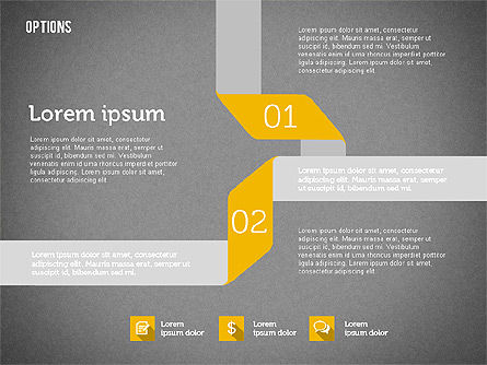 Origami Style Options, Slide 10, 01946, Stage Diagrams — PoweredTemplate.com