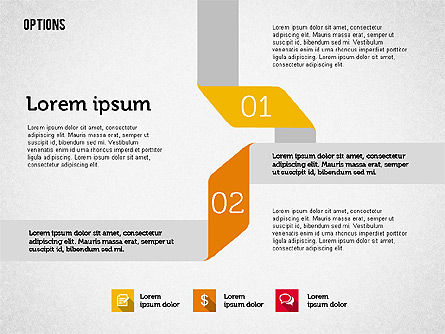 Origami Style Options, Slide 2, 01946, Stage Diagrams — PoweredTemplate.com