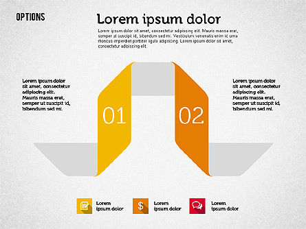 Origami Style Options, Slide 4, 01946, Stage Diagrams — PoweredTemplate.com