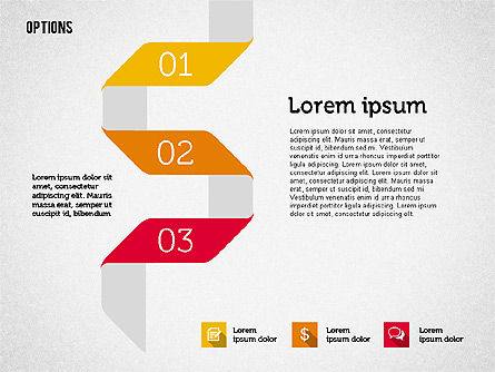Origami Style Options, Slide 5, 01946, Stage Diagrams — PoweredTemplate.com