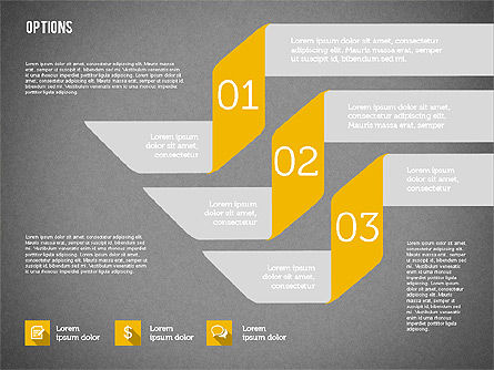 Origami Style Options, Slide 9, 01946, Stage Diagrams — PoweredTemplate.com