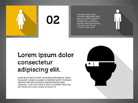 Technology Presentation in Flat Design, Slide 11, 01947, Presentation Templates — PoweredTemplate.com