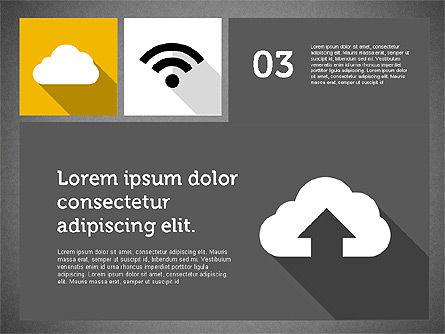 Technology Presentation in Flat Design, Slide 12, 01947, Presentation Templates — PoweredTemplate.com