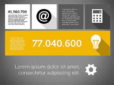 Technology Presentation in Flat Design, Slide 14, 01947, Presentation Templates — PoweredTemplate.com
