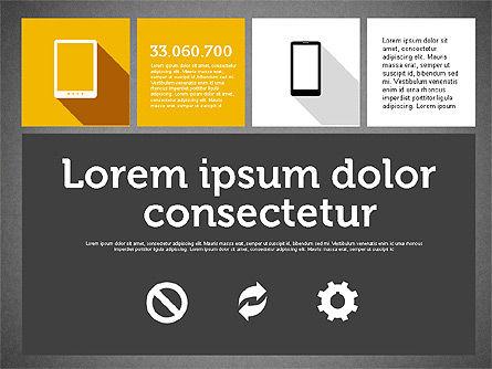 Technology Presentation in Flat Design, Slide 15, 01947, Presentation Templates — PoweredTemplate.com