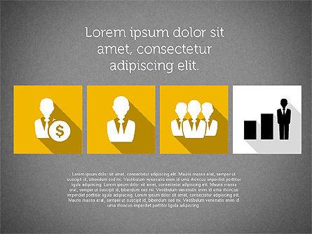 Technology Presentation in Flat Design, Slide 16, 01947, Presentation Templates — PoweredTemplate.com