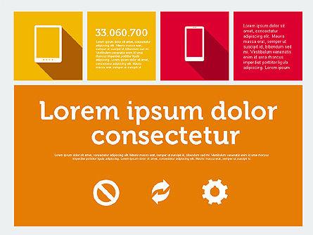 Technology Presentation in Flat Design, Slide 7, 01947, Presentation Templates — PoweredTemplate.com