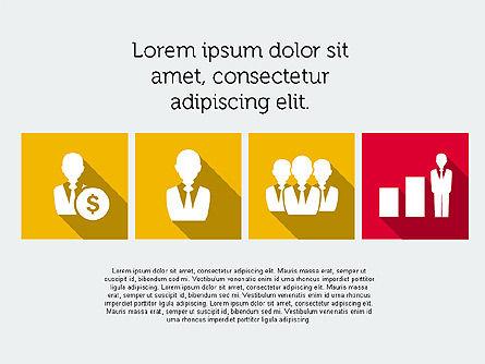 Technology Presentation in Flat Design, Slide 8, 01947, Presentation Templates — PoweredTemplate.com
