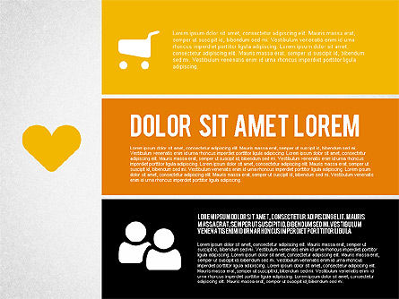 Presentation Templates: Presentatie in de Windows-interface stijl #01951