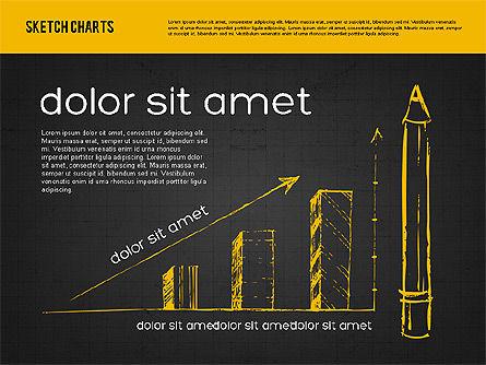 Sketch Style Charts, Slide 10, 01953, Business Models — PoweredTemplate.com