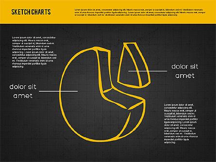 Sketch Style Charts, Slide 14, 01953, Business Models — PoweredTemplate.com