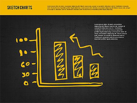 Sketch Style Charts, Slide 16, 01953, Business Models — PoweredTemplate.com