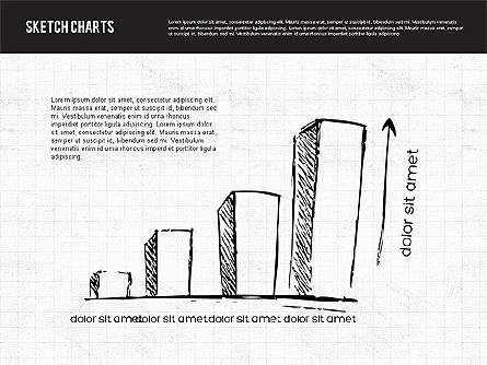 Sketch Style Charts, Slide 4, 01953, Business Models — PoweredTemplate.com