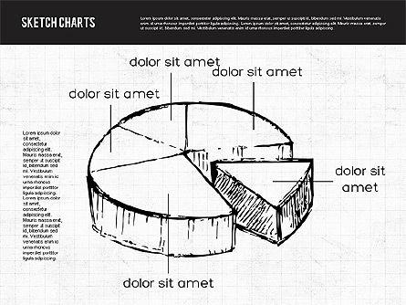Sketch Style Charts, Slide 5, 01953, Business Models — PoweredTemplate.com