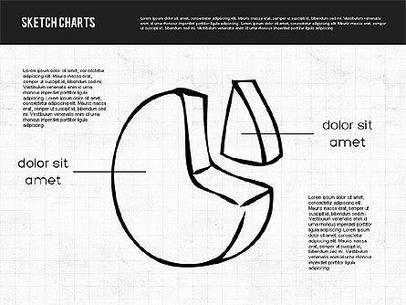 Sketch Style Charts, Slide 6, 01953, Business Models — PoweredTemplate.com