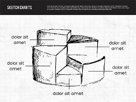 Sketch Style Charts, Slide 7, 01953, Business Models — PoweredTemplate.com
